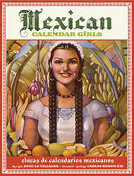 Book cover, Mexican Calendar Girls by Angela Villalba
