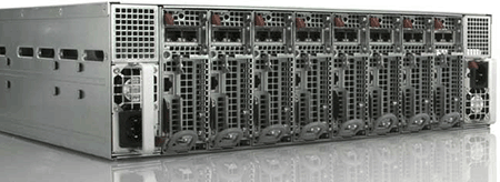 Rack of files servers