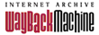 Internet Archives Wayback Machine logo